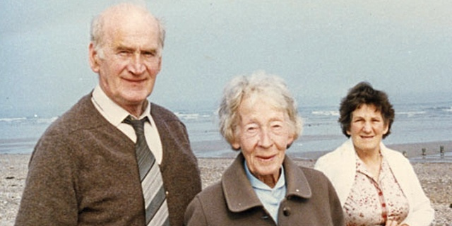 Peadar, May and Eileen