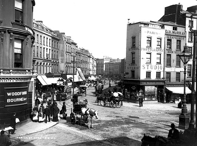 Patrick Street from Daunts Square (source: Wikipedia)